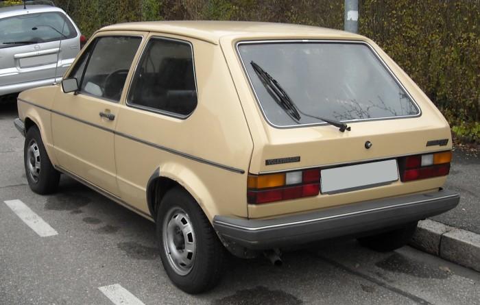 Late model Type 17 rear